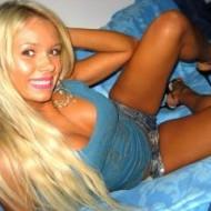 Blondes Camgirl Axela