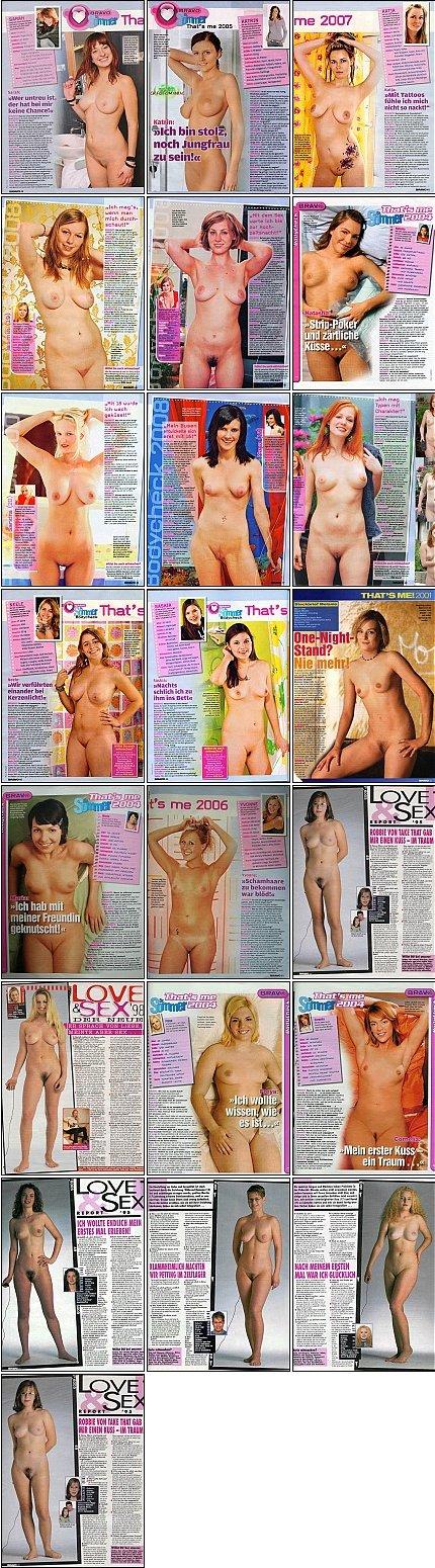 Bravo Ausgaben mit nackten Mädchen