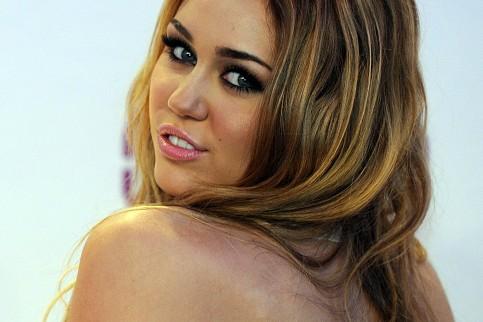 Miley Cyrus feiert
