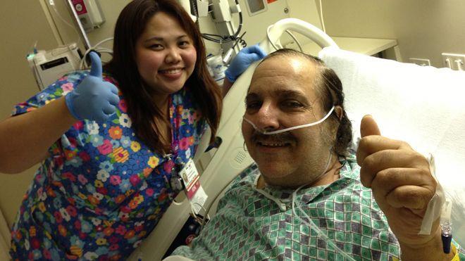 Ron Jeremy nach 2 Operationen