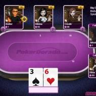 Poker mit heißen Girls