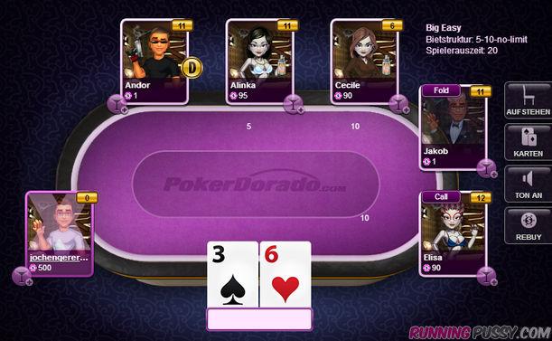 Der Pokertisch