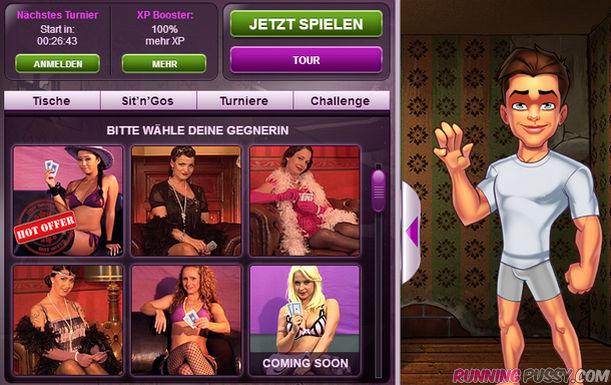 Strippoker mit den geilsten Frauen