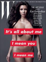 Kardashian auf der Titelseite vom W-Magazin