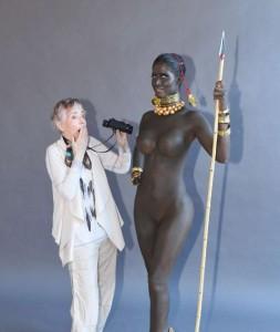 Micaela und ihre Oma