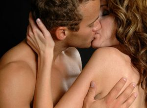 Pärchen beim Liebesspiel
